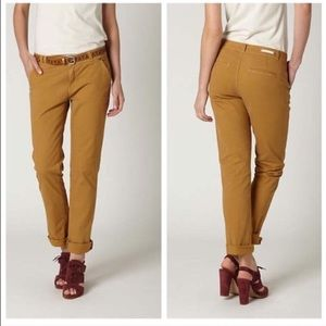 Pilcro and the Letterpress Hyphen chinos camel
